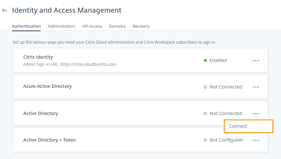 citrix identity and access management